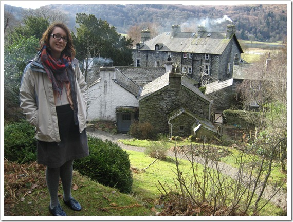 Saturday: A tour of Dove Cottage before the poetry event.