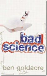 Book Cover: Bad Science, by Ben Goldacre