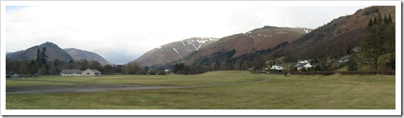 The view from Grasmere.
