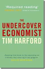 The Undercover Economist book cover