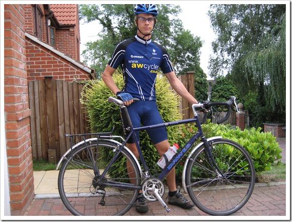 The Dawes Horizon touring bicycle