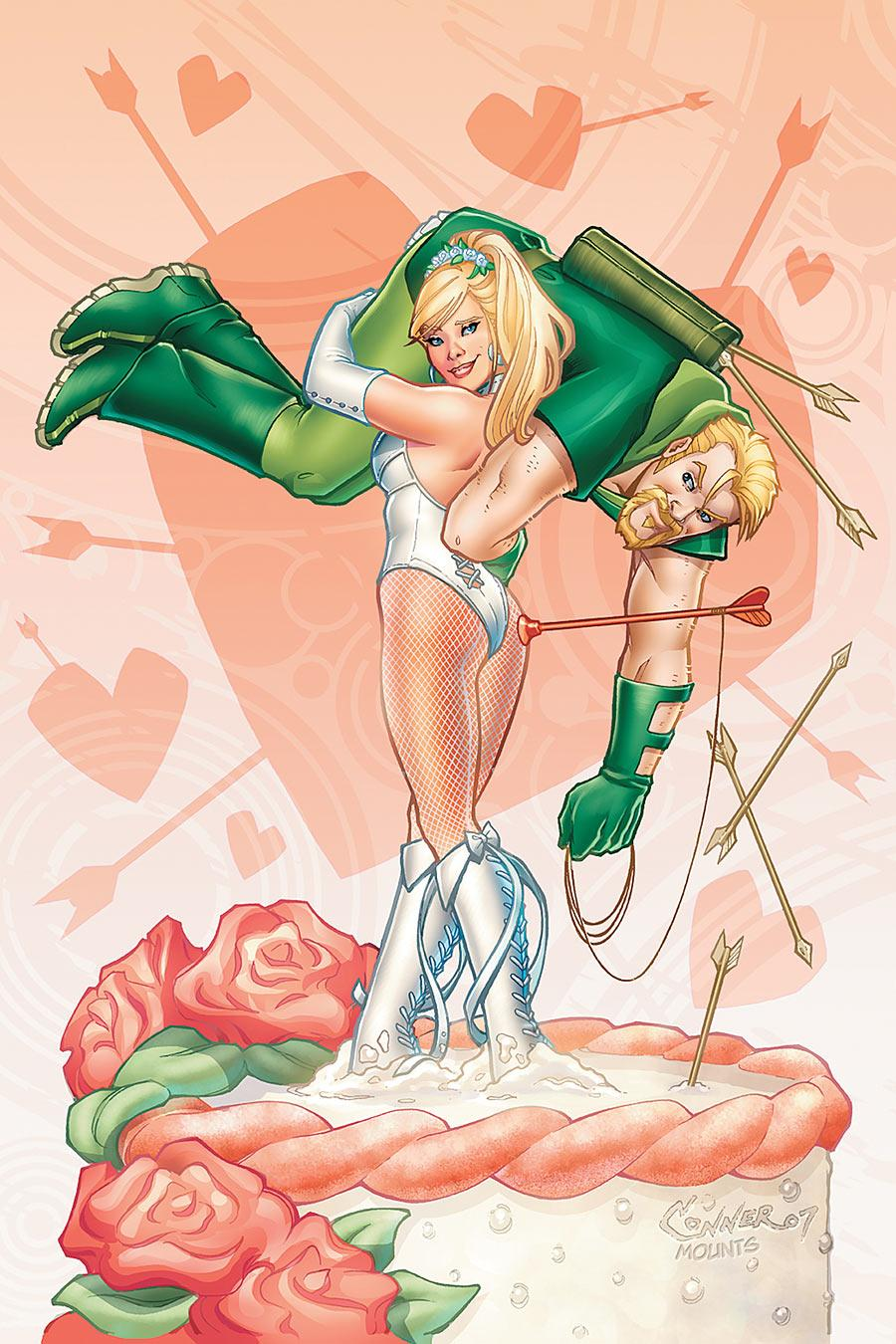 Wedding of Black Canary and Green Arrow