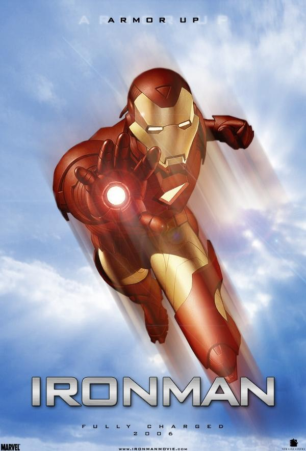 Animated movie Iron Man 2006